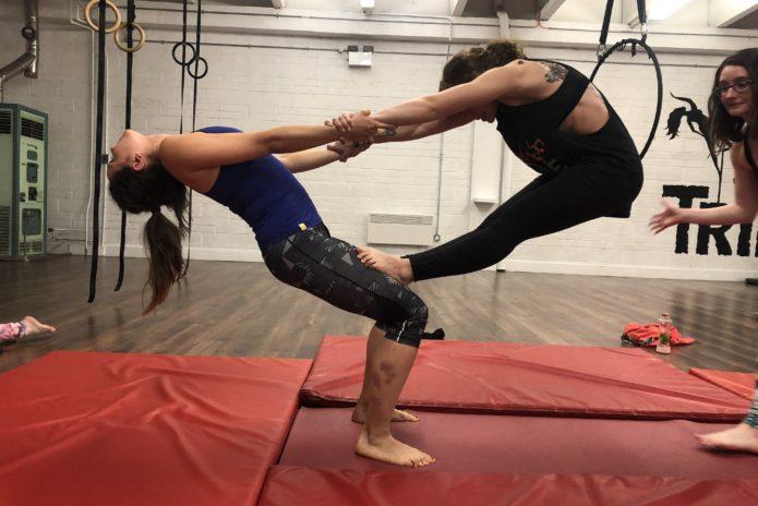 Tribe Fitness Dance Studio - Acrobalance Class