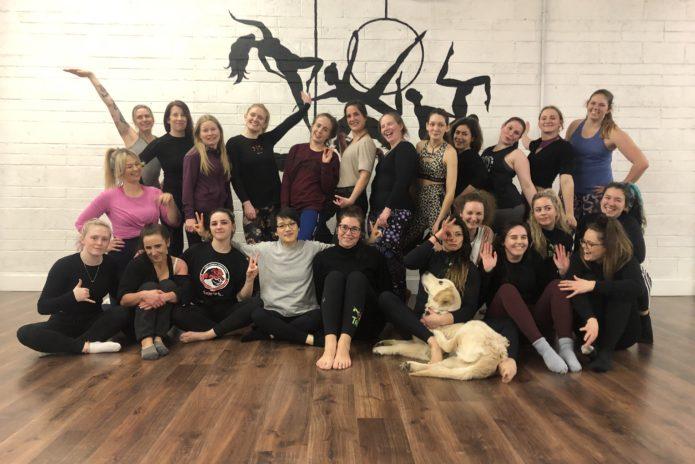 Tribe Fitness Dance Studio - Aerial Hoop Class