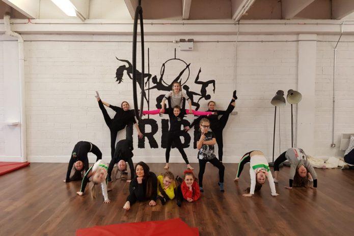 Tribe Fitness Dance Studio - Aerial Hoop Kids Class